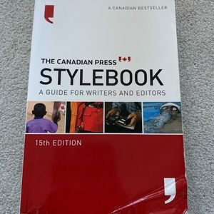 💎2/$15 The Canadian Press Stylebook 15th Edition